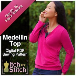 Itch to Stitch Medellin Top