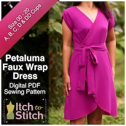 Itch to Stitch Petaluma dress