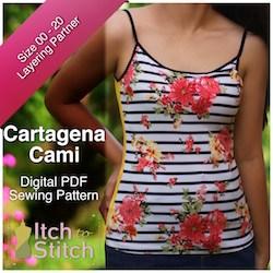 Itch to Stitch Cartagena Cami
