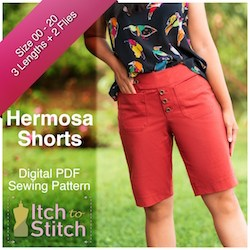 Itch to Stitch Hermosa shorts