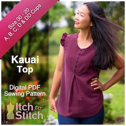 Itch to Stitch Kauai top