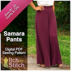 Itch to Stitch Samara Pants