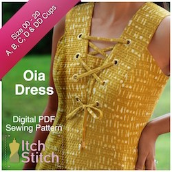 Itch to Stitch Oia dress