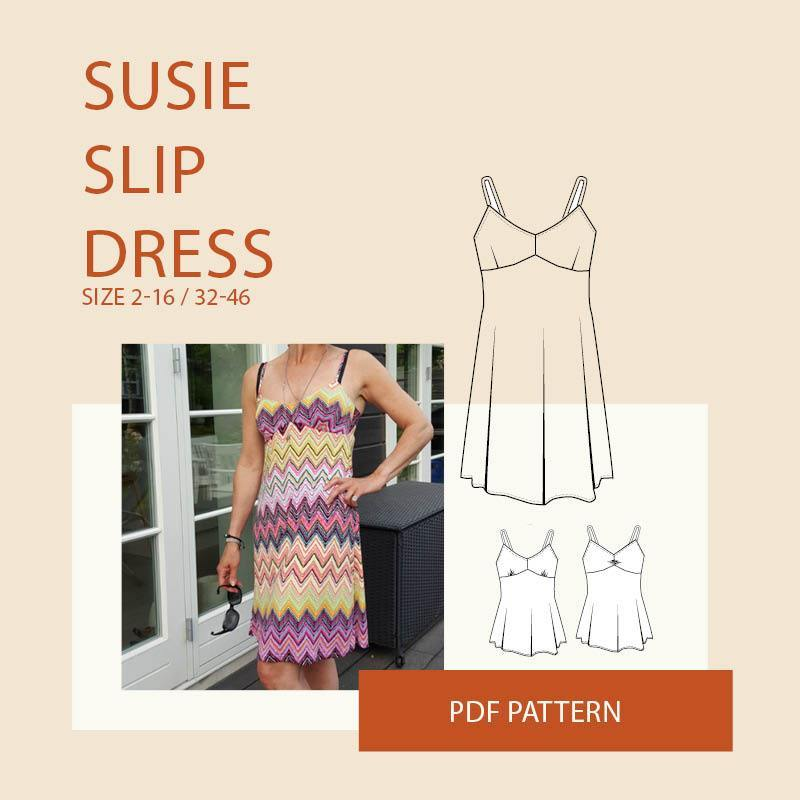 WBM Susie slip dress