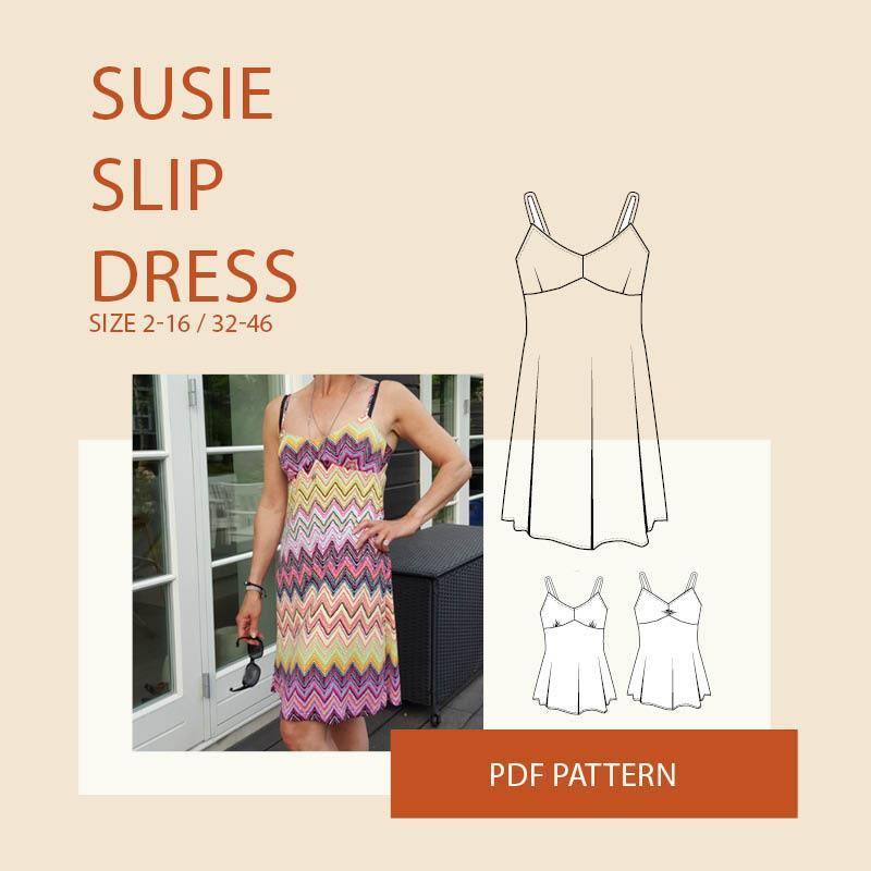WBM Susie slip dress