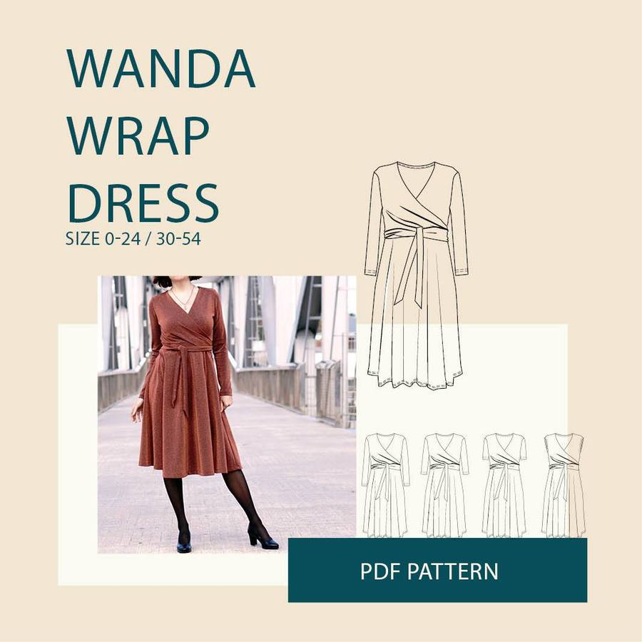 WBM Wanda wrap dress