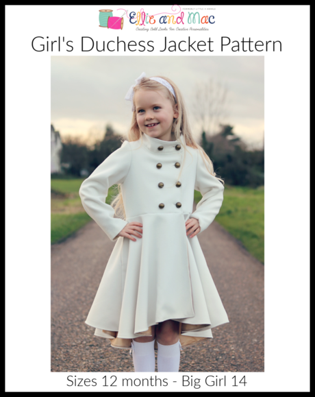EAM kid duchess jacket