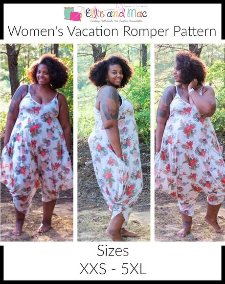 EAM vacation romper