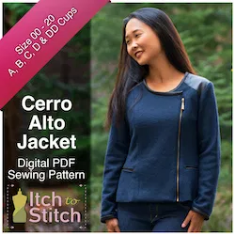 Itch to Stitch Cerro Jacket