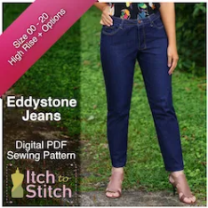 Itch to Stitch Eddystone Jeans