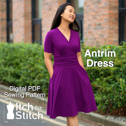 Itch to Stitch Antrim dress