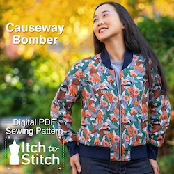 Itch to Stitch Causeway Bomber