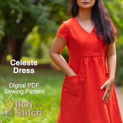 Itch to Stitch Celeste dress