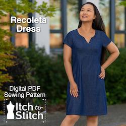 Itch to Stitch Recoleta dress