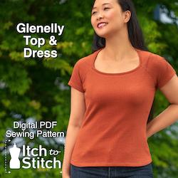 Itch to Stitch Glenelly top