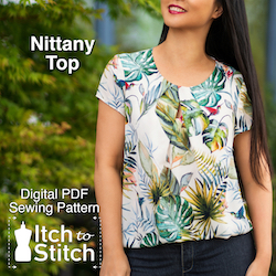 Itch to Stitch Nittany top